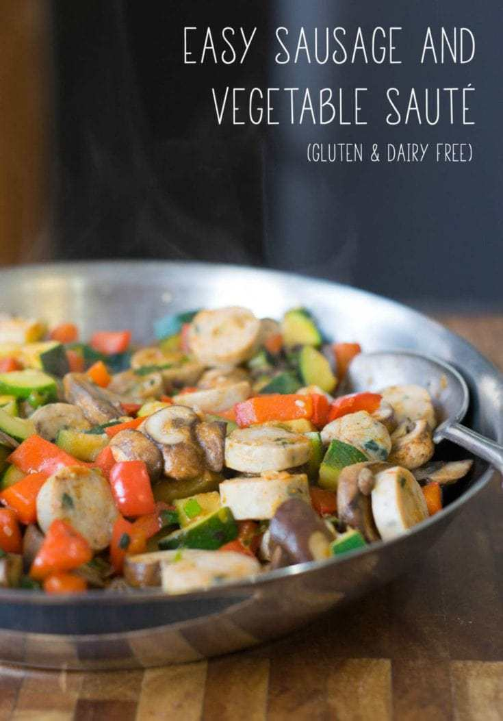 30-Minute Dinner: Easy Sausage and Vegetable Sauté