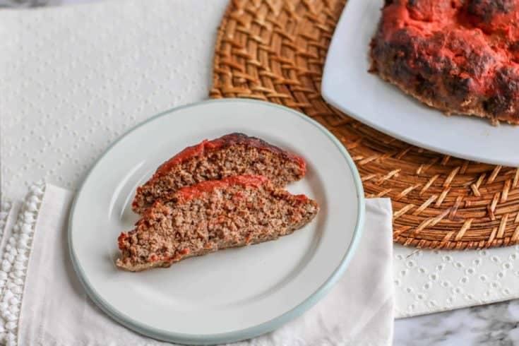 Low Carb Air Fryer Meatloaf