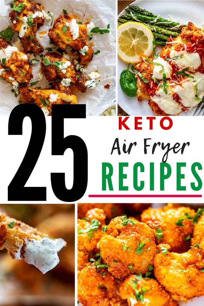 25 Keto Air Fryer Recipes Kicking Carbs