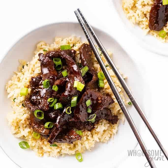Keto Slow Cooker Mongolian Beef Recipe